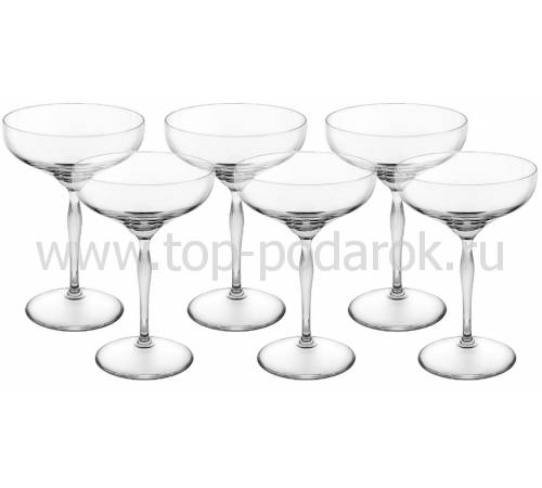 """Набор из 6-ти бокалов для шампанского """"100 Points"""" Lalique 10491300"""
