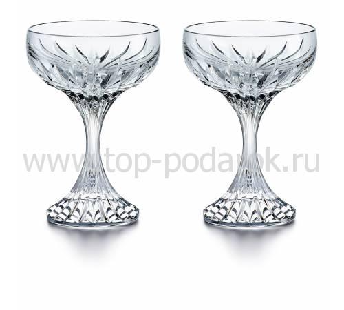 """Набор из 2-х бокалов для шампанского """"MASSENA"""" Baccarat 2811796"""