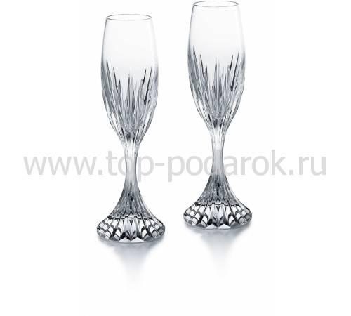 """Набор из 2-х бокалов для шампанского """"MASSENA"""" Baccarat 2811797"""