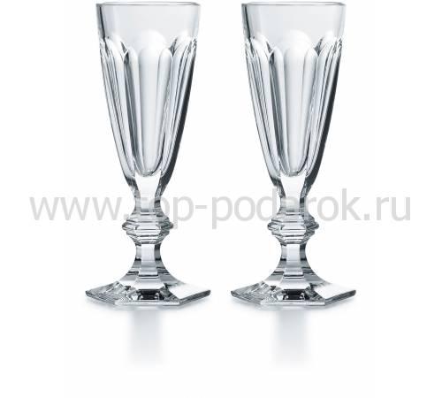 """Набор из 2-х бокалов для шампанского """"Harcourt"""" Baccarat 2811799"""