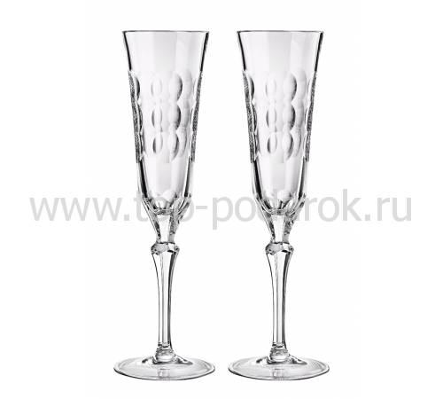 """Набор из 2-х фужеров для шампанского """"Kawali"""" Christofle 07913214"""
