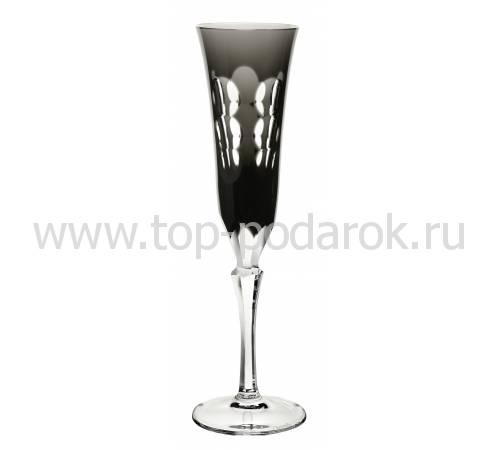 """Фужер для шампанского """"Kawali"""" (h=22,5) черный Christofle 07913014"""